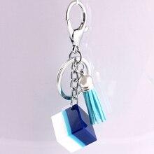 Liga de Zinco de Cristal de vidro Moda Coreana Fivela Acessórios Do Carro chaveiro em lote conjunto da cadeia de moda chave da cadeia de telefone Móvel 15