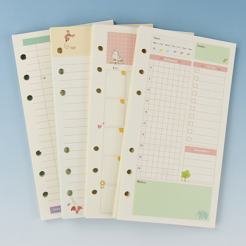 Astounding image with cute planner refills