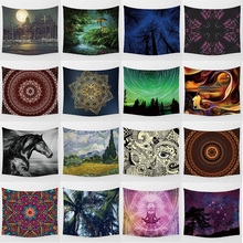Hot sale large high-definition  mandala forest tapestry wall hanging mixture styles
