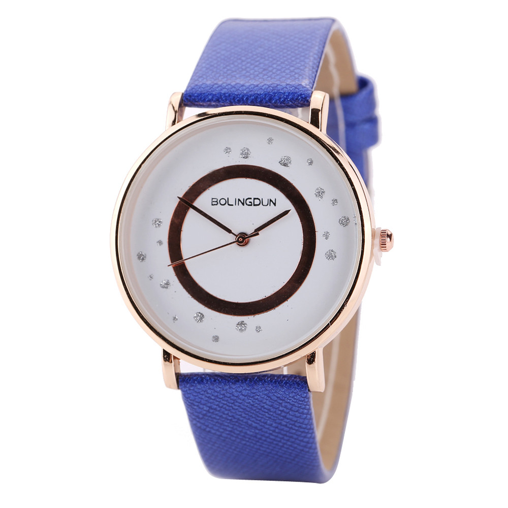 Watch Women Watches Woman Leather Quartz Bracelet Simple Wrist Watch relogio feminino