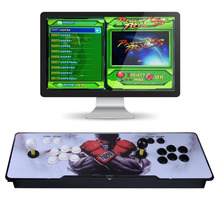 Video game ultra-thin metal home arcade fighting game machine double entertainment 1388 in one game with a pause