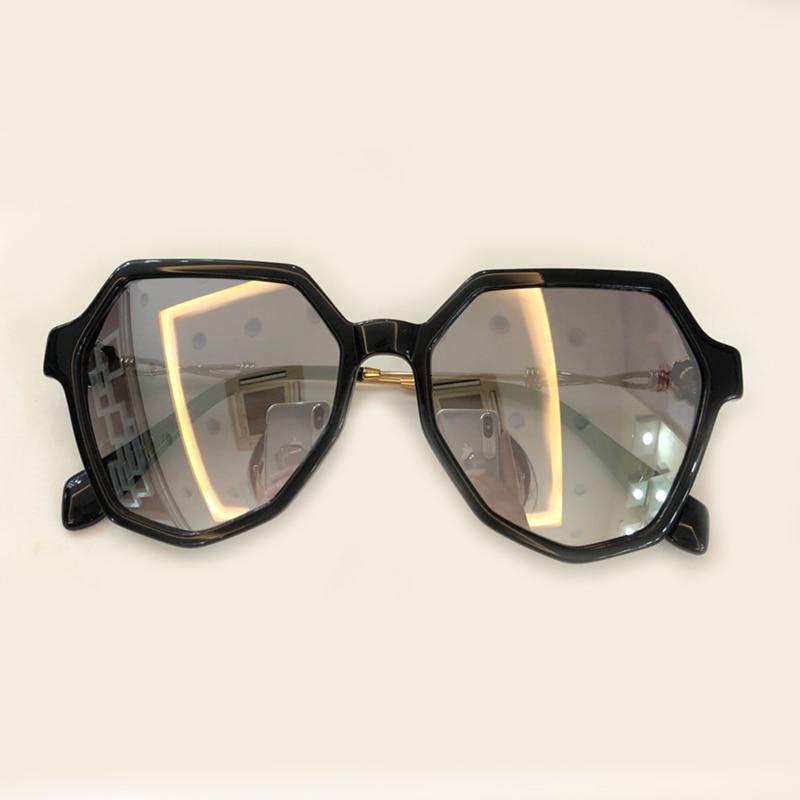 Gradienten 4 Sonnenbrille Rahmen no 1 Feminino 6 Designer Objektiv 5 Qualität Luxus Marke No Shades Sol no 2 no 3 Oval Uv400 no Legierung Mit Oculos Hohe no 8 7 Frauen De no no Box wnEzqFWE8