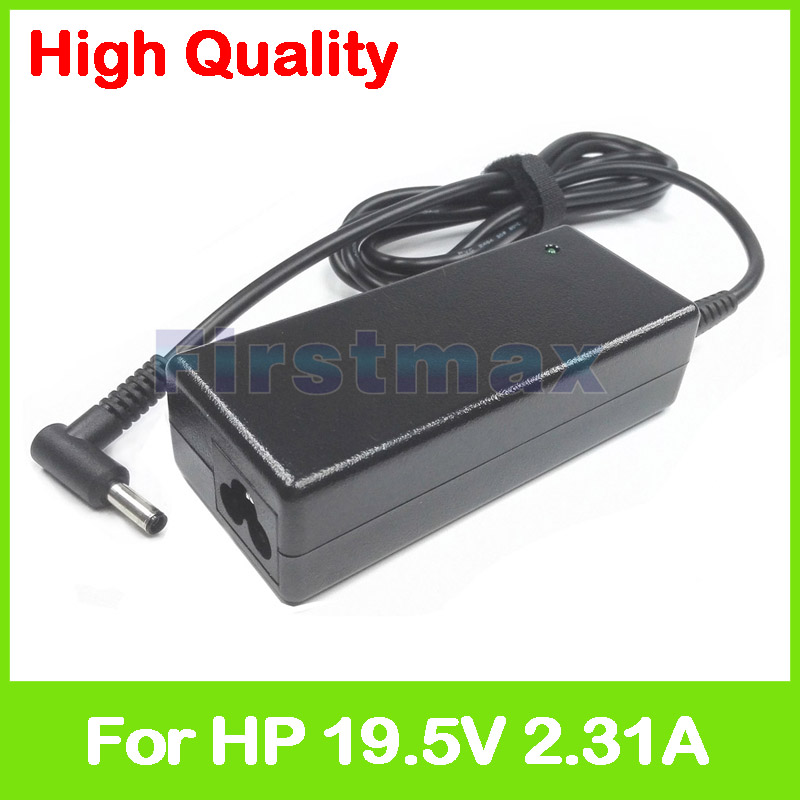 19.5V 2.31A 45W laptop ac power adapter charger for <font><b>HP</b></font> 15-g300 17-ak000 240 245 246 250 255 256 258 G6 241 243 247 <font><b>G1</b></font> <font><b>HP</b></font> <font><b>340</b></font> G4 image