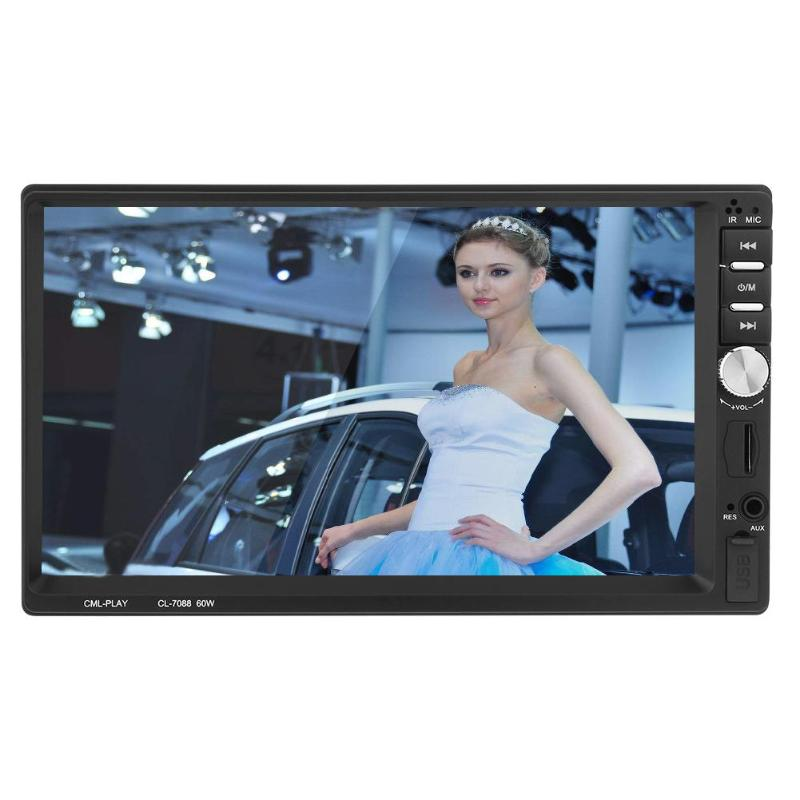 VODOOL 7 HD Touch Screen In Dash Car MP5 Player Bluetooth FM Radio Phone MP3 Music Audio Video Player Reversing Parking Monitor