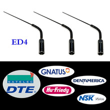 3 pieces/lot Dental Scaler Endo Tip ED4 for DTE/ Satelec/ NSK/ Gnatus/ Bonart