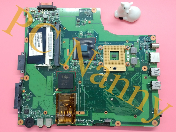 FOR TOSHIBA A200 LAPTOP MOTHERBOARD V000108050 6050A2120801-MB-A02 945GM DDR2 GREEN PCB