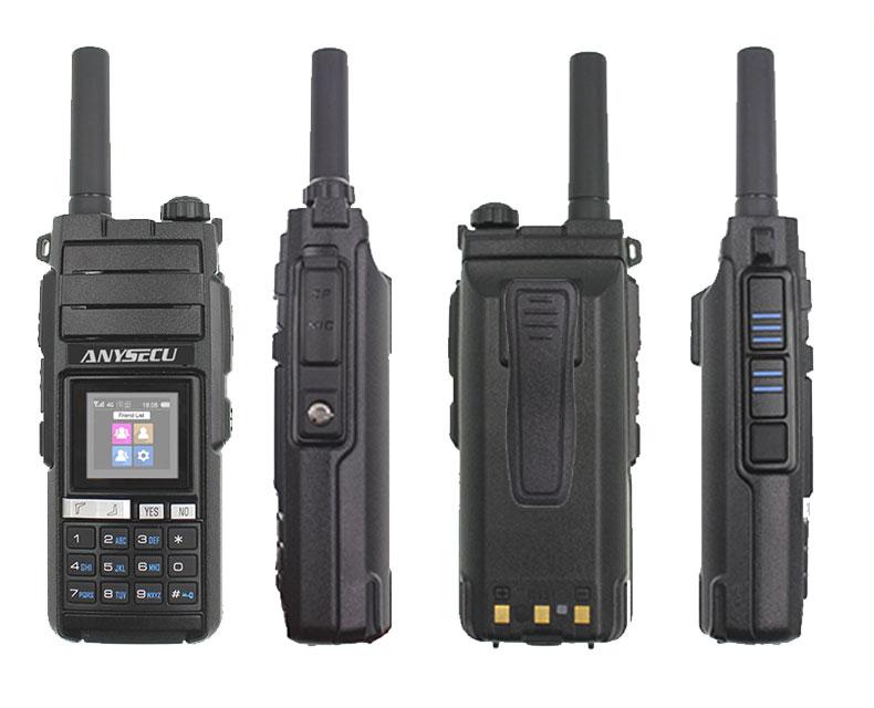 4G LTE Android Walkie Talkie 4G-HD700 Network Phone Radio Intercom Rugged Smart Phone REAL PTT Radio