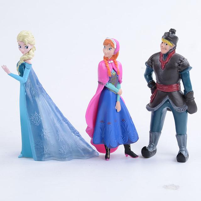 Disney Frozen 5 Figures 5pcs/Lot 5-10cm