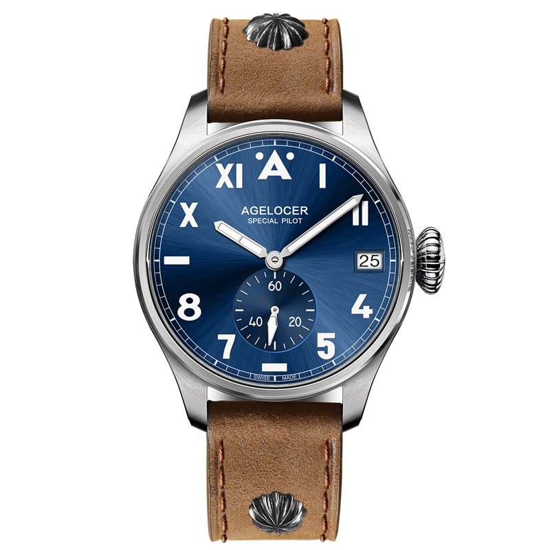AGELCOER Designer Mens Dress Watch Automatic Mechanical Calendar Role Watches Male Leather Blue Black Dial Simple Wrist Watches все цены