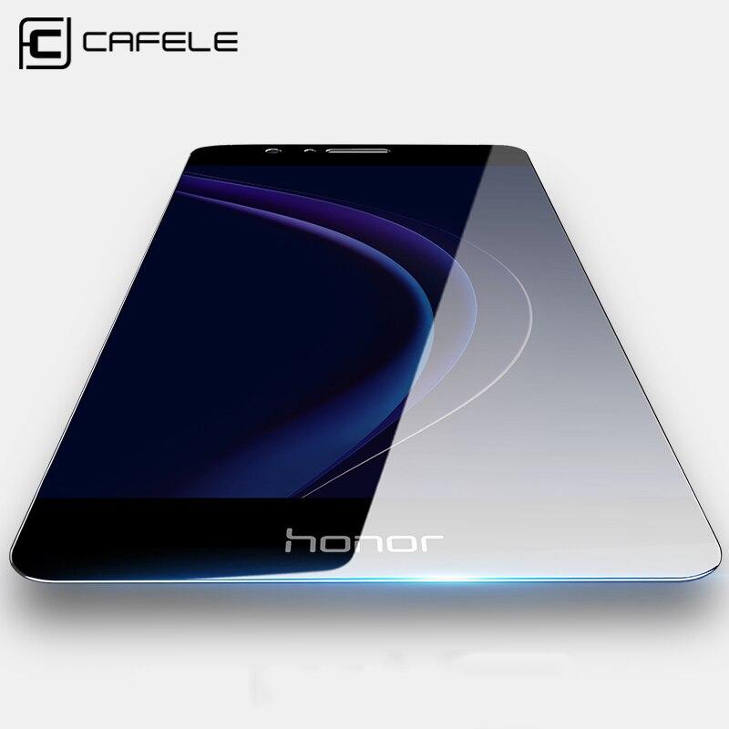 Cafele HD Ясно для Huawei Honor 8 Экран протектор 9 H ультра тонкий с антибликовым покрытием защитный Плёнки закаленное Стекло для Huawei Honor 8