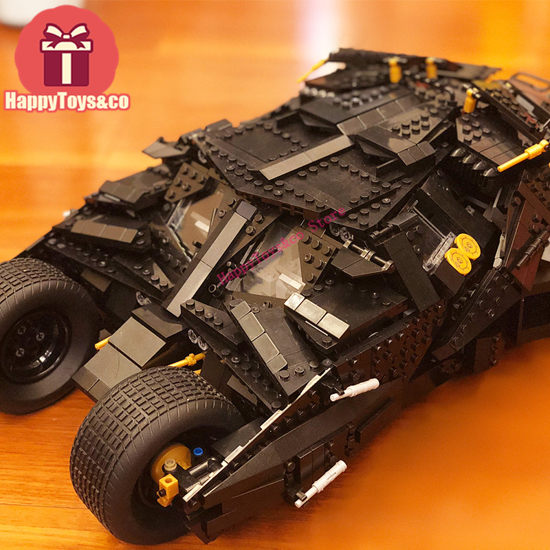 LEPIN New Super hero series 76023 1969Pcs The Batman Armored Chariot toys For Children Gift 07060 Building Blocks Set Compatible lepin 07060 super series heroes movie the batman armored chariot set diy model batmobile building blocks bricks children toys