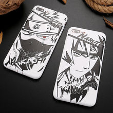 Naruto Sasuke Kakashi Case For iPhone X XS XR 6 6S 7 8 Plus