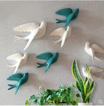 American style swallow hanging crafts wall decorations