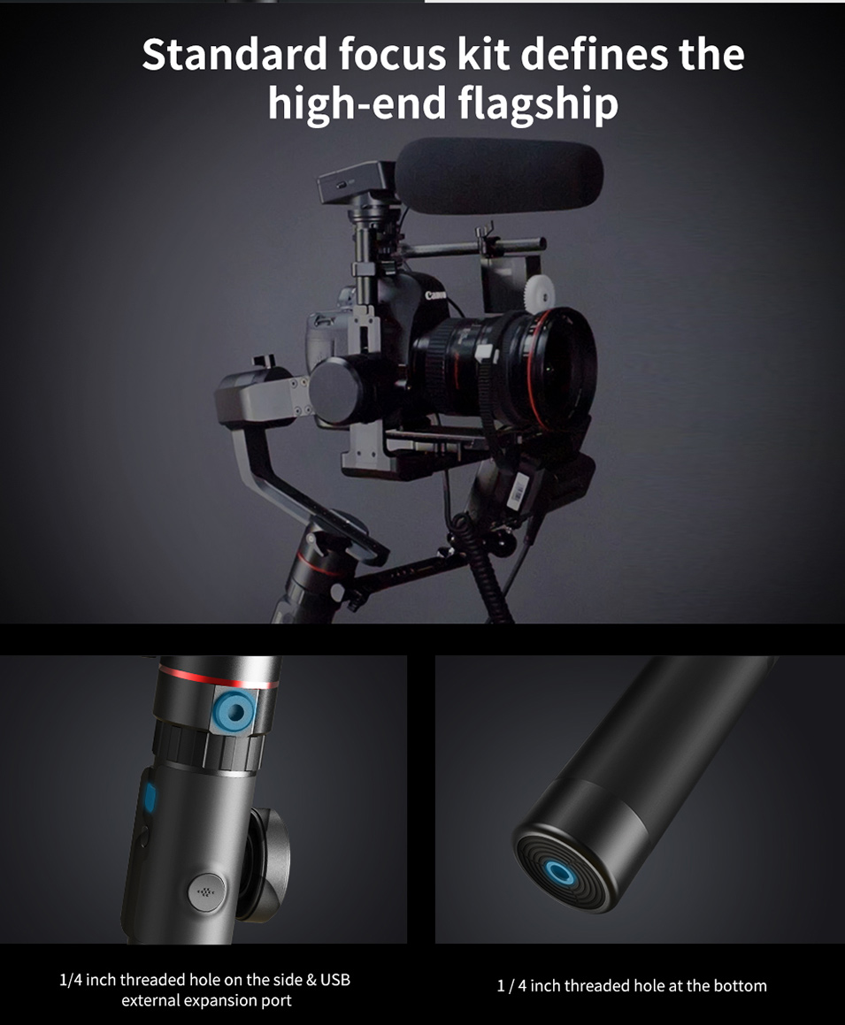 Feiyutech Feiyu AK4000 AK00 3-Axis DSLR Stabilizer Follow Focus Handhel Video Gimbal for Sony Canon Panasonic Nikon cameras 24