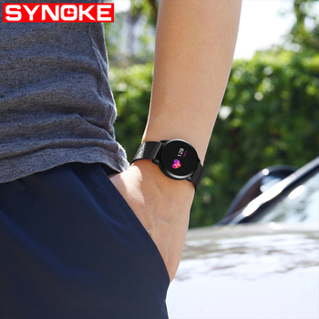 SYNOKE Smart Watch Men Android Waterproof Mens Digital Watches Sport Stainless Steel Watch Men Wristwatches Mens IOS Watches