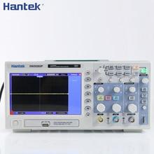 Hantek DSO5202P dijital depolama osiloskop 200MHz 2 kanal 1GSa/s 7 TFT LCD kayıt uzunluğu 40K USB osiloskop Osciloscopio