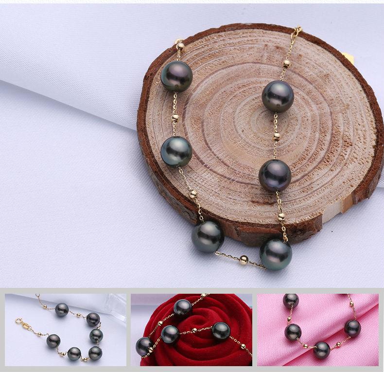 gold pearl bracelets 66