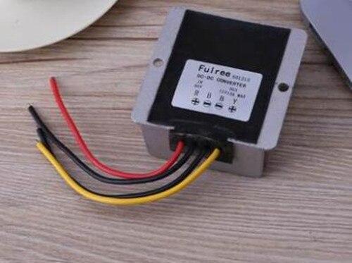 DC-DC Convertisseur Auto Voiture LED écran d'affichage LED signe Onduleur Étanche Abaisseur Module Abaisseur 12 V/24 V à 5 V 20A 100 W
