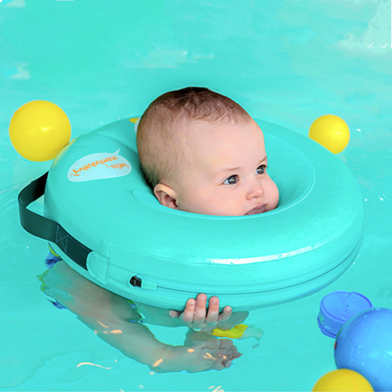 Neck Float Circle For Bathing No need pump air More Safety Swimming Ring Free inflatable collar Quality Baby Neck Swimming Ring environmentally friendly pvc inflatable shell water floating row of a variety of swimming pearl shell swimming ring