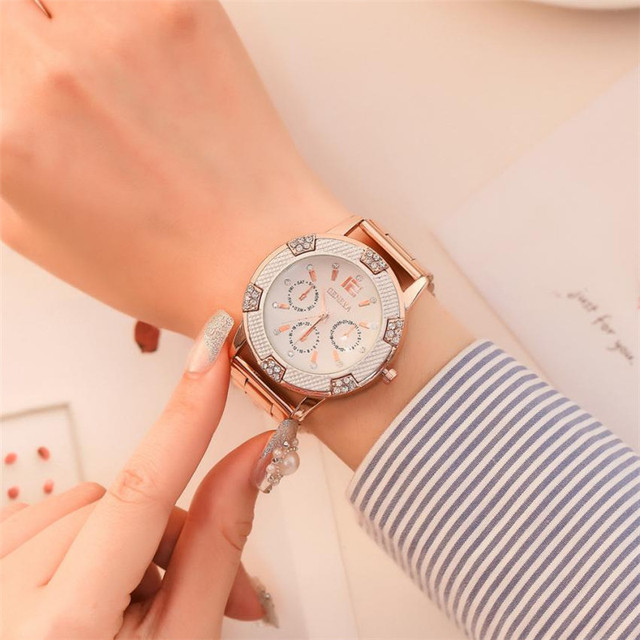New Fashion Luxury watches for Women Watches Stainless Steel Quartz Bracelet Cla