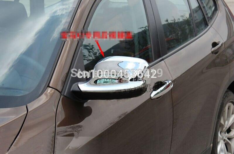 Revêtement d'habillage de moulage de miroir latéral de Chrome pour BMW x1 E84 2010 2011 2012 Xdrive