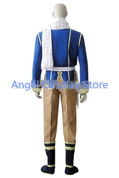 Hot Anime Fairy Tail Dragon Slayers Natsu Cosplay Costumes Dragneel Celestial Spirit Christmas Hallowmas Clothing Any Size NEW