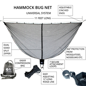 Image 2 - Ultra Large Hammock Mosquito Net To Keep Out Bug Insect Fits All Hammocks Outfitters Compact Mesh Easy Setup Outfitters SnugNet