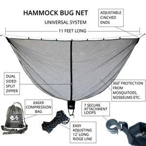 Image 2 - Ultra เปลญวนขนาดใหญ่ยุงสุทธิTo Keep Out Bugแมลงเหมาะกับเปลญวนทั้งหมดOutfittersตาข่ายขนาดกะทัดรัดติดตั้งง่ายOutfitters snugNet