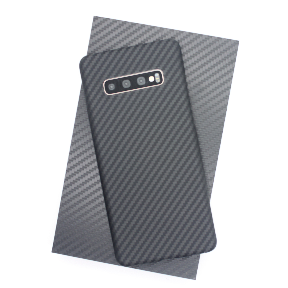 Image 5 - Luxury Carbon Fiber Case for Samsung Galaxy S10 S10 Plus Case  Matte Aramid Fiber 0.7MM Ultra Thin Matte Phone Cover CasesFitted Cases   -