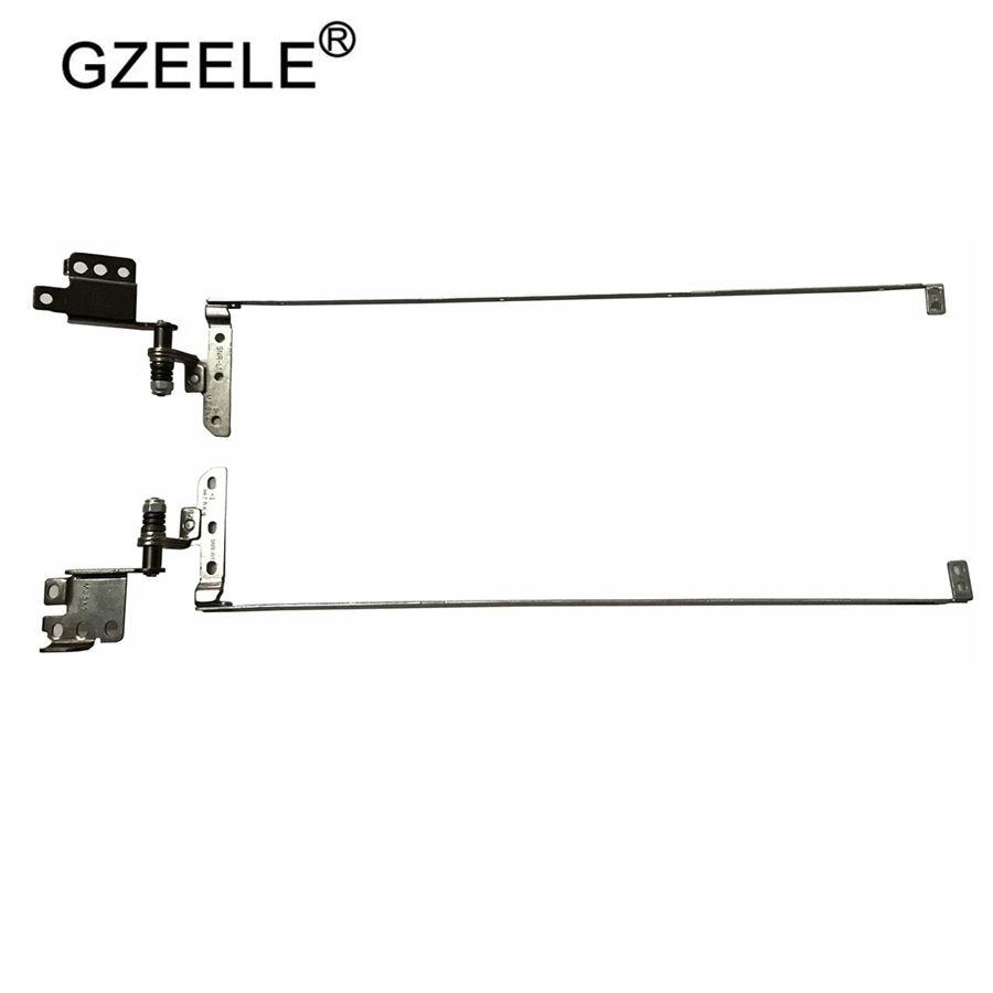 GZEELE NEW Laptop Screen Hinge For Lenovo IdeaPad Y570 Y570A Y570N Y575 Hinges Left And Right Set P/N: AM0HB000300 AM0HB000200