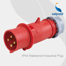 цена на Saipwell Hot Sales 230V CEE Waterproof Industrial Electrical Plugs AND Sockets IP44 / 4Pin / 16A / 6H type SP264