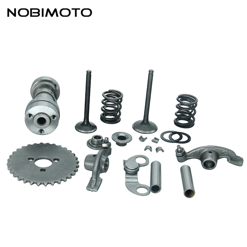 Full sets Kits Parts For Lifan 125cc and 140cc Cylinder Head Fit for Lifan 125cc 140cc ATV Dirt Bike Motorcycle GT-108