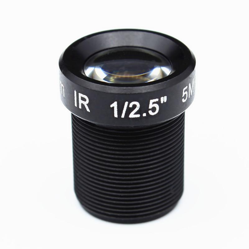 10pcs 1 2 5 HD 5mp 12mm CCTV Lens 32 Degrees Angle MTV IR Board M12