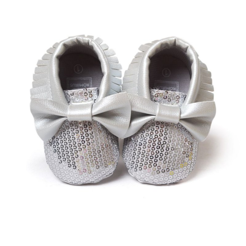Fashion Baby Boy Girl Toddler Soft Sole Shoes Infant Kid Moccasins Bowknot Shoes 0-18M