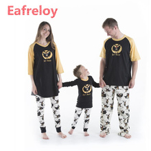 Family Christmas Pajamas Family Matching Clothes Matching Mother Daughter  2017 Fashion Father Son Mon New Year Family Look Sets 8bea11771
