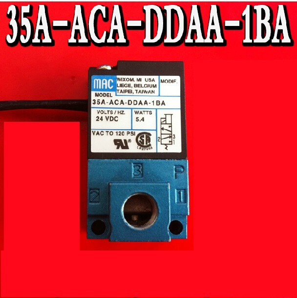 MAC type solenoid valve 35A-ACA-DDAA-1BA MAC high frequency valve marking machine dispensing valve DC24V MADE IN CHINA smc type pneumatic solenoid valve sy5120 3lzd 01