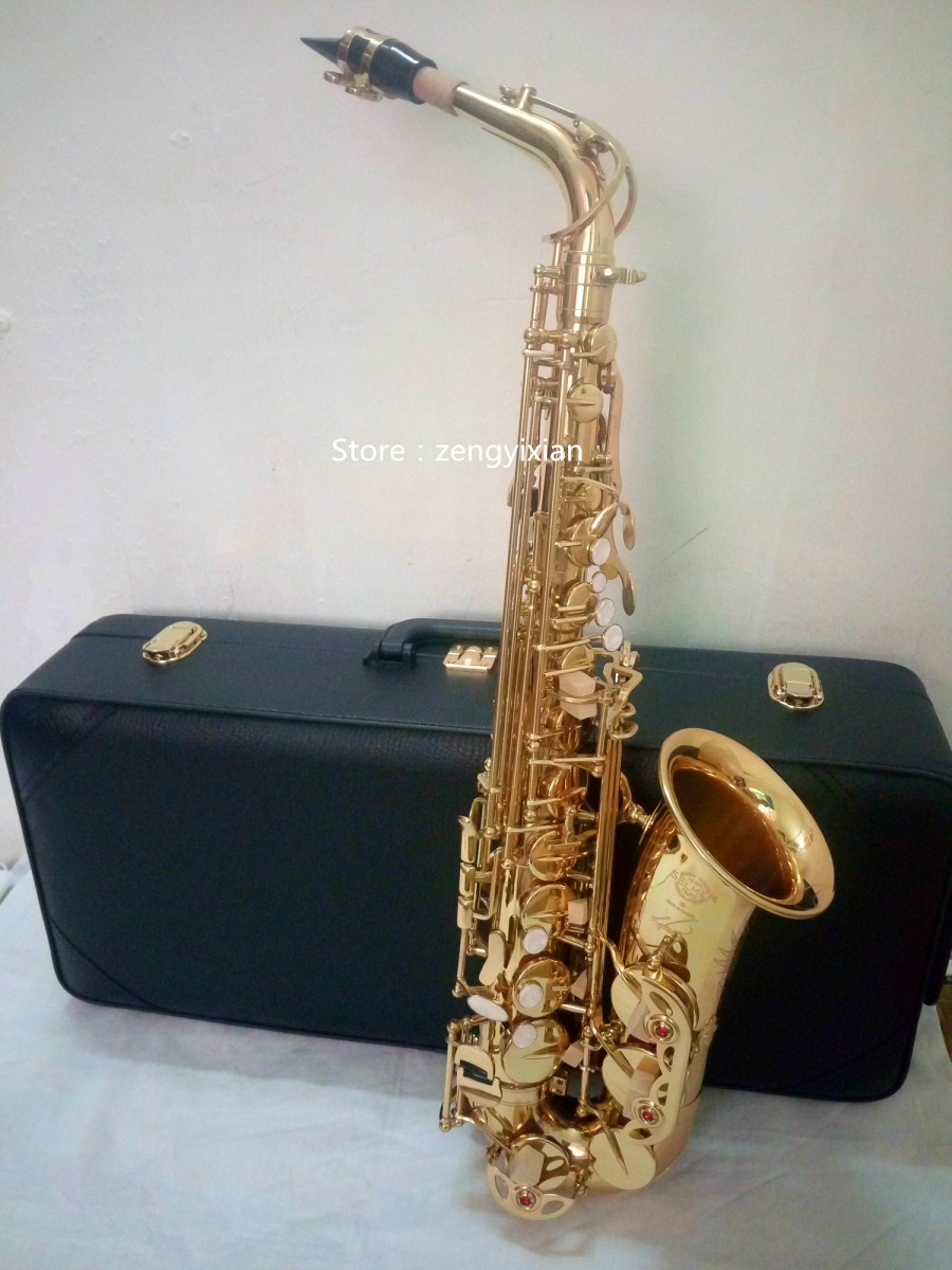 Top Alto saxophone new Sax Selmer 54 alto saxophone Musical Instruments Professional E-flat Sax dhl ups free professional saxophone e flat sax alto france henri selmer alto saxophone 802 saxfone top musical instruments