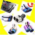 Car-Styling Car Exhaust Pipe Tail Pipes For Mitsubishi ASX Outlander Lancer Evolution Pajero Eclipse Grandis FORTIS Zinger