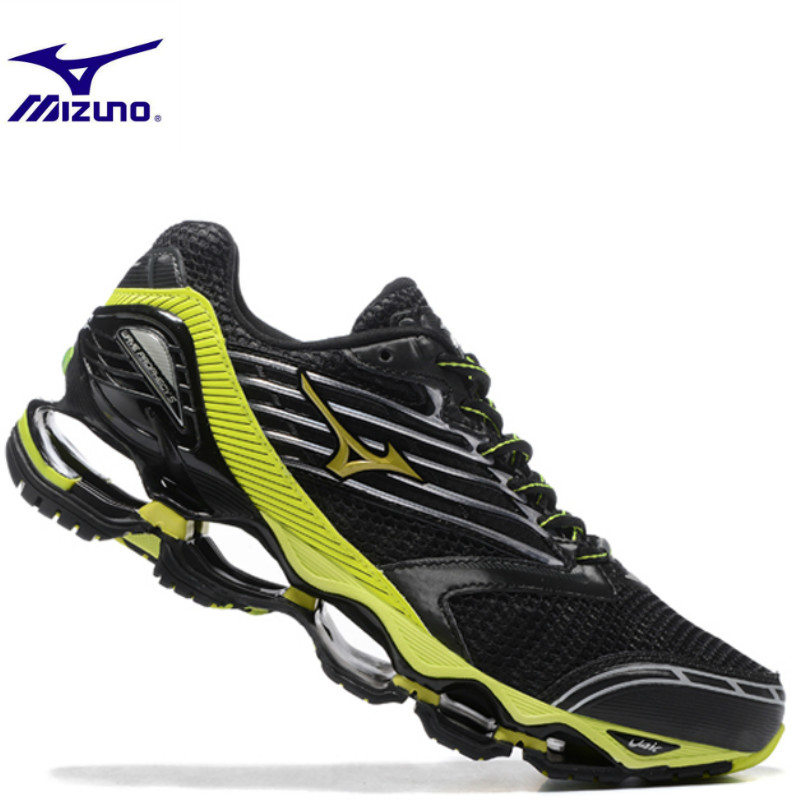 Mizuno Wave Prophecy 5 Men Shoes Breathable Mesh Summer Casual Slip On Male Fashion Footwear Weightlifting Shoes size 40-45