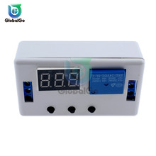 DC 12V 24V LED Digital Time Delay Relay Module Programmable Timer Relay Control Switch Timing Trigger Cycle for Car Smart Home