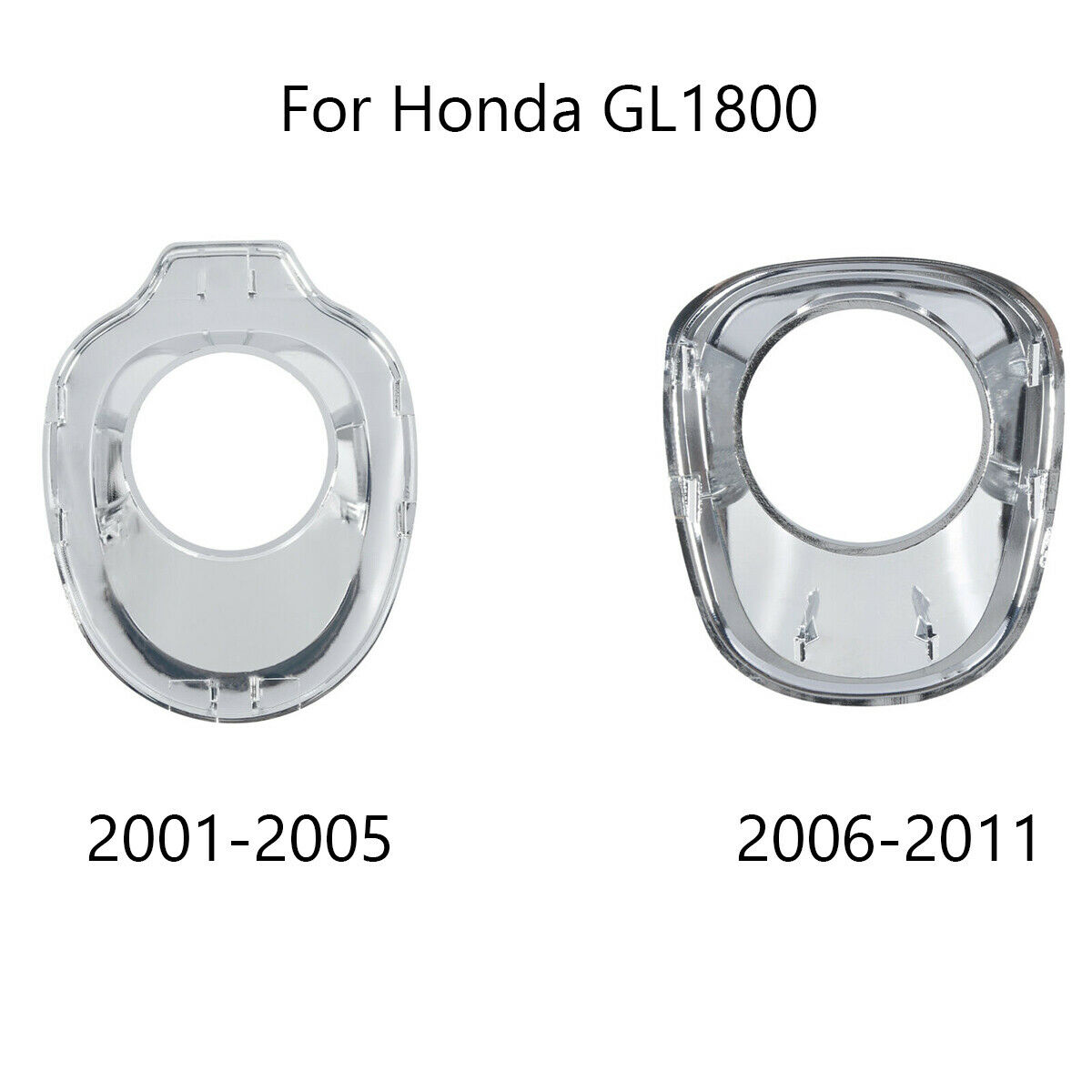 Ignition Key Accent Fairing Cover For Honda Goldwing GL1800 2001-2005 Chrome