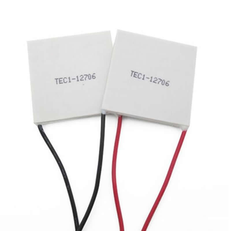 2pcs TEC1-12706 12V 6A TEC1 Thermoelectric Cooler Peltier semiconductor refrigeration 12706 12709 12710 12715 tec1 12709 12v 9a 80w 40 40mm thermoelectric cooler peltier cells module cooling plate mechanism of semiconductor refrigeration