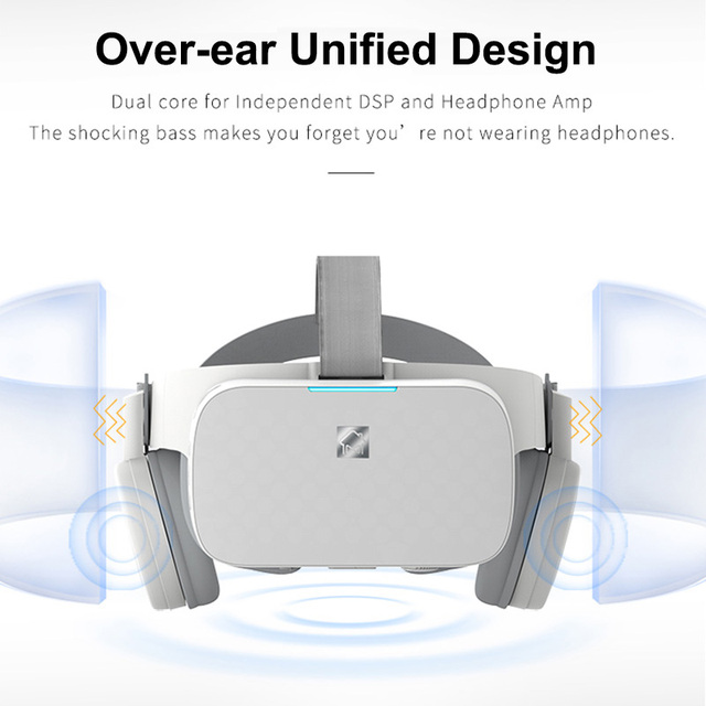 BOBOVR X6 Virtual Reality All in One VR Binocular 2.5K HD VR Headset Android 16GB 3D Glasses Helmet Immersive 5.5' LCD WIFI BT 4
