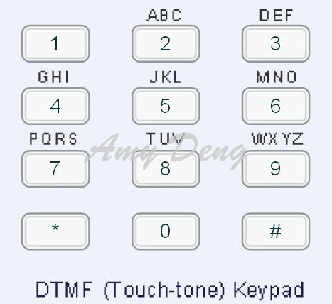 DTMF decoder the encoder DTMF tone generator once receives 30 serial data