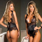Sexy Women Low Cut Push Up Sexy Lingerie U Bra Set Backless Underwear Plunge Sexy Deep V Belt Bras Sets Female Erotic Intimates