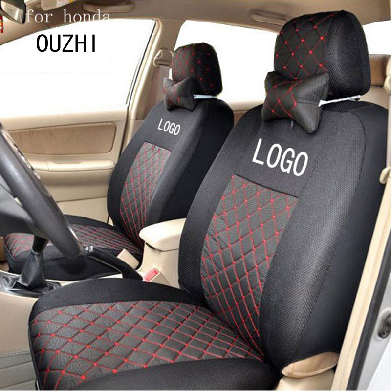 OUZHI Front 2 Seat Covers For Honda Civic 2006 2011 Accord