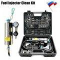 Sistema Universal Automotriz No Dismantle Combustible gasonline Inyector Clean tool Cleaner Auto Para Los Coches de Gasolina