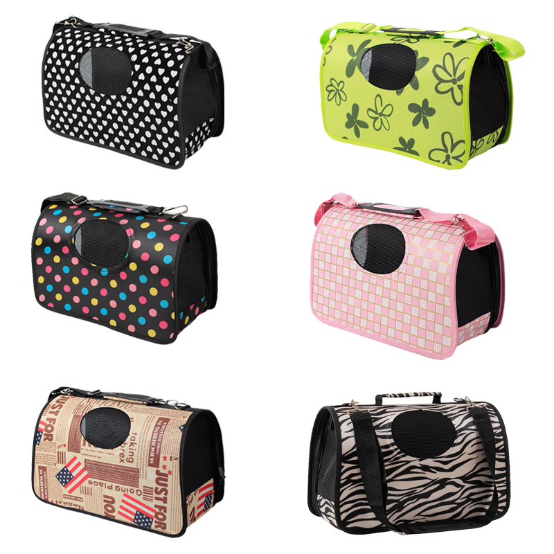 Pawstrip 6 Design Pet Dog Carrier Bag Chihuahua Travel Bag Outdoor Single Shoulder Bag For Small Dog Cat S/m/l