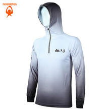 2016 Men Anti UV Breathable/Quick-drying outdoor Professional Shark pattern Clothes Fishing Mesh Fishing Shirt Sweatshirts S-5XL