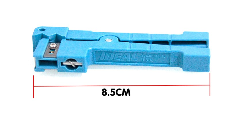 Ideal 45-163 Coaxial Cable Stripper8